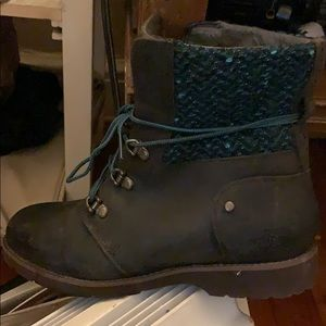 Brown North Face Boots Like New